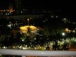 вид с 11 этажа на большой бассейн ночью.Таиланд. отель Амбассадор-2