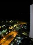 вид с 11 этажа на большой бассейн ночью.Таиланд. отель Амбассадор-1