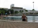огромный бассейн с разной глубиной. Таиланд. отель Амбассадор