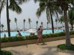 Фишка! бассейн на берегу Сиамского залива! Таиланд. отель Амбассадор