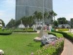 Таиланд. отель Амбассадор. Вид с пляжа на отель Марина