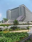 Таиланд. отель Амбассадор. Вид с пляжа на самый лучший  отель Океан