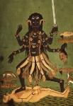 Йога-тур в Гималаи, Хатха-Йога в Индии,богиня Кали-2