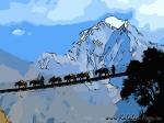 Йога-тур в Непал. Треккинг в Гималаях- 79