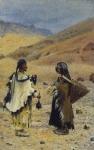 Западный Тибет. Местные жители, 1870-е годы