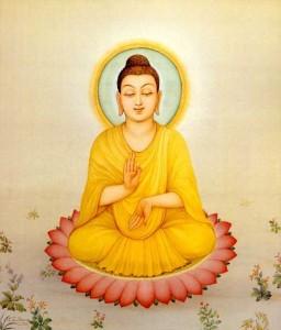 Будда на лотосе