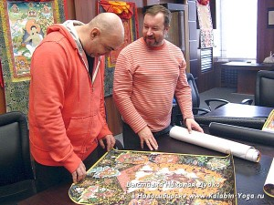 Йога-тур в Гималаи, Тханка Николая Дудко