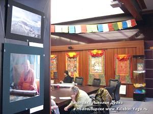 Выставка буддисткой Тханки в Новосибирске. Йога-тур в Гималаи