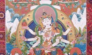 Тибетская Тханка в Новосибирске