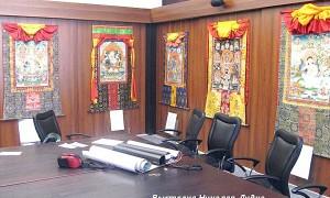 Малый Тибет (Ладакх). Практики Йоги Ясного Сна. Тханка Белый Махакала