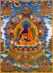 Путевые заметки. Малый Тибет (Ладакх). Практики Йоги Ясного Сна. Тханка Манла Будда медицины