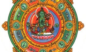 Малый Тибет (Ладакх). Практики Йоги Ясного Сна. Тханка Зелёная Тара