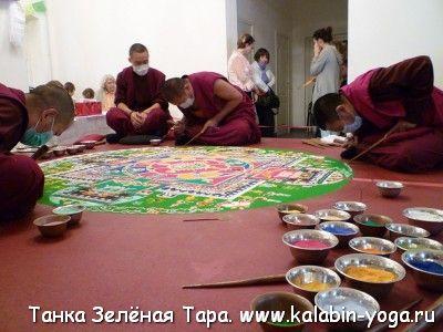 Фото Путевые заметки. Малый Тибет (Ладакх). Практики Йоги Ясного Сна. Танка Чистая земля Зелёной Тары