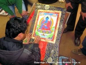 Йога-тур в Непал.Хатха-йога для начинающих-3