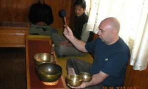 Тибетские поющие чаши. Обучение