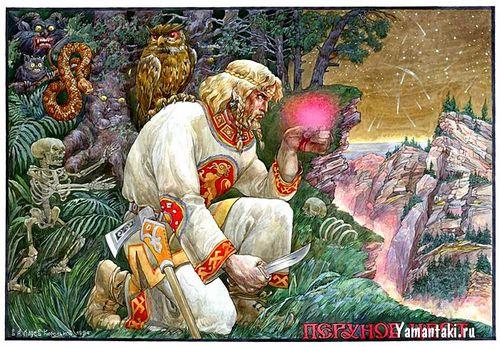 Фото Обсидиан магическое стекло славян