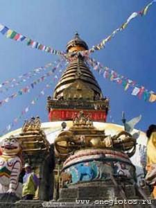 Йога-тур в Непал. Ступа Сваямбунатх