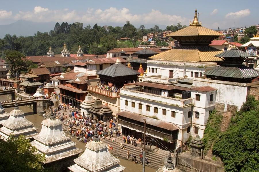 Фото Видео-отчёт-3, май, 2012. Непал. Пашупатинатх