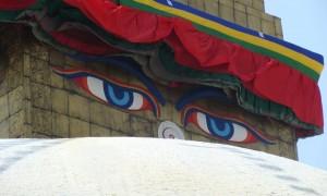 Видео-отчёт-2, май, 2012. Непал. Ступа Сваямбуднатх