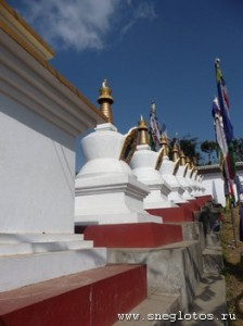 Ступа Намобудда. Йога-тур в Гималаи