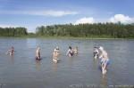 Отдых на Алтае. Водные процедуры в Катуни