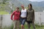 Отдых на Алтае. Девчульки на Чемальской ГЭС