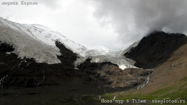 Йога-тур в Тибет. Ледник Карола