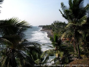 Варкала - представляет собой бэкпекерский курорт в Керале