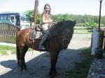 катание на лошадях на Алтае