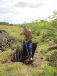 практика закапывания в землю на Алтае