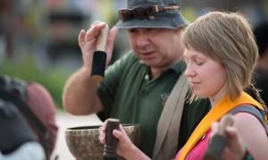 Тибетская поющая чаша, массаж, Алтай,Окунёво