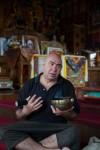 Тибетская поющая чаша, массаж